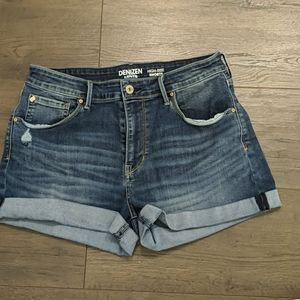 3/$20 Denizen High Waist Cuffed Shorts
